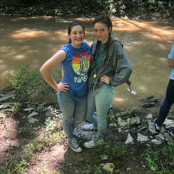 Summer 2019 Girls by the Creek