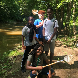 Summer 2019 Boys by the Creek