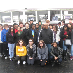 Mr. Higgins spoke to Upward Bound about surviving the crash that killed 27 people and the dangers of drinking and driving.