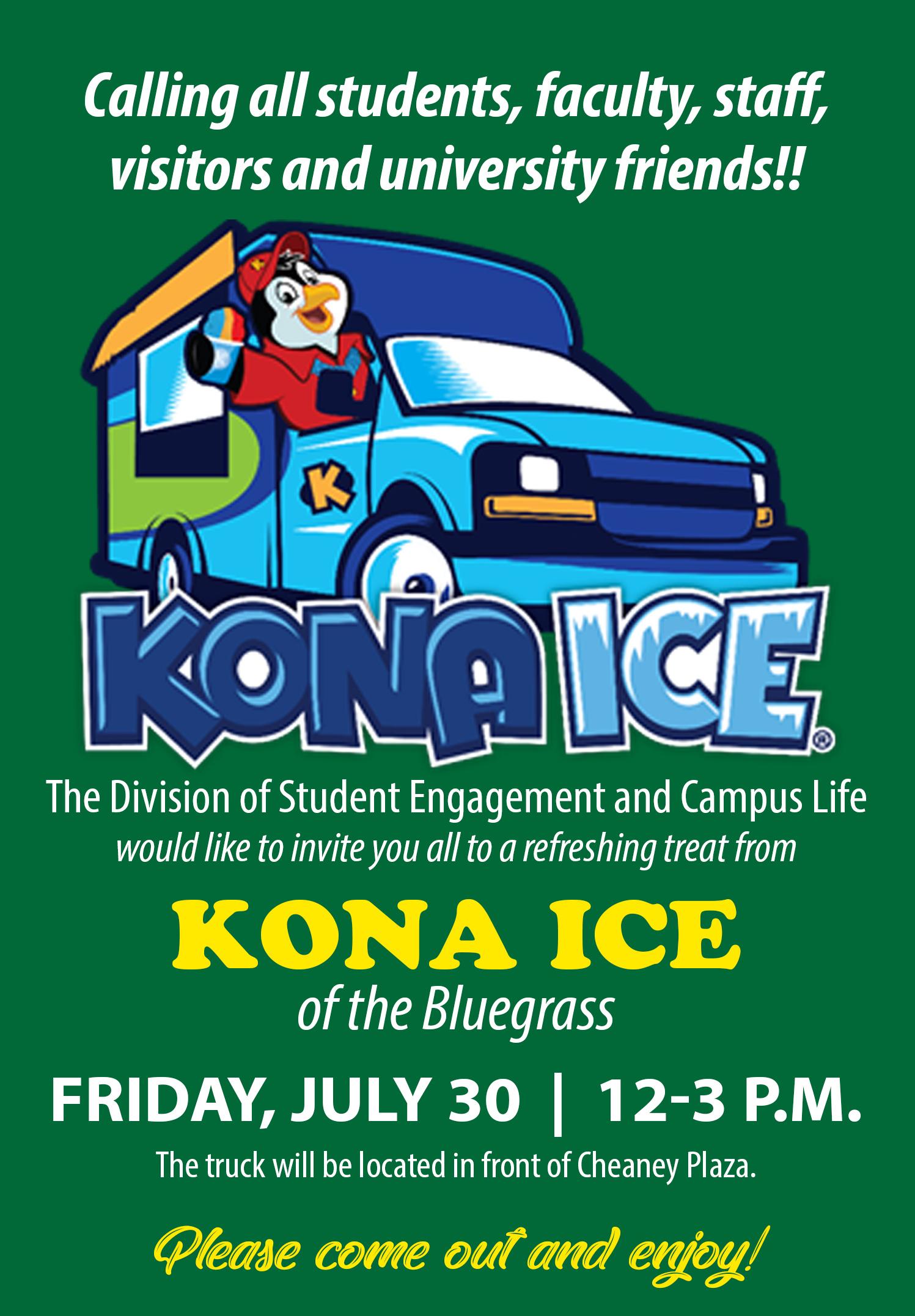 Kona Ice of the Bluegrass