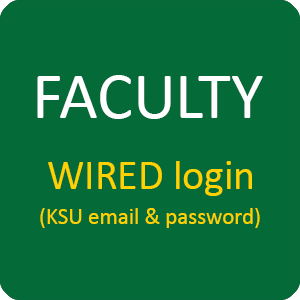 Faculty WIRED login