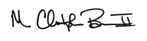 President Brown signature