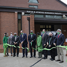 Kentucky State University rededicates the Rufus B. Atwood Agricultural Research Center