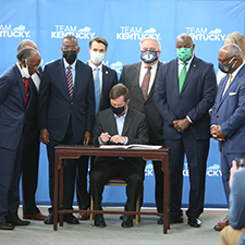 Historic legislation strengthens Kentucky State University's connection to Simmons College and West Louisville