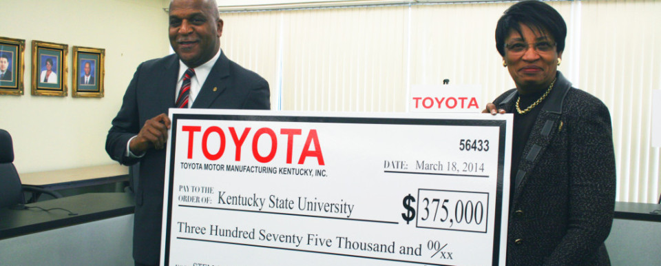 Toyota will develop a deeper and richer pipeline to employ students with engineering degrees.