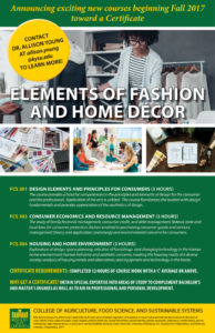Certificate in Fashion and Home Decor