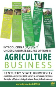 Undergraduate Degree Option in Ag Business