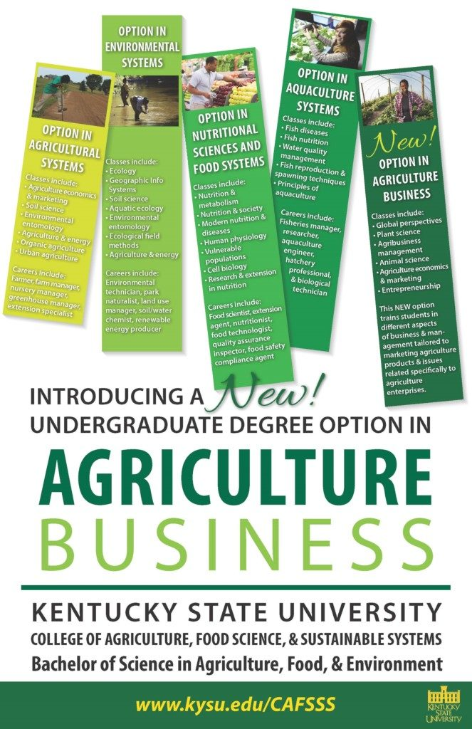 College Of Agriculture Food Science And Sustainable