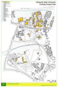 Campus Map Kentucky State University - Map of kentucky state