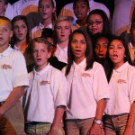 Members of the EMS Chorus focused their performance