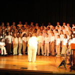 KSU Alum Damon Green conducts the  EMS Chorus