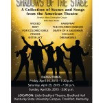 Shawdows of the Stage Poster
