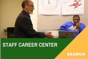 Staff Career Center Search