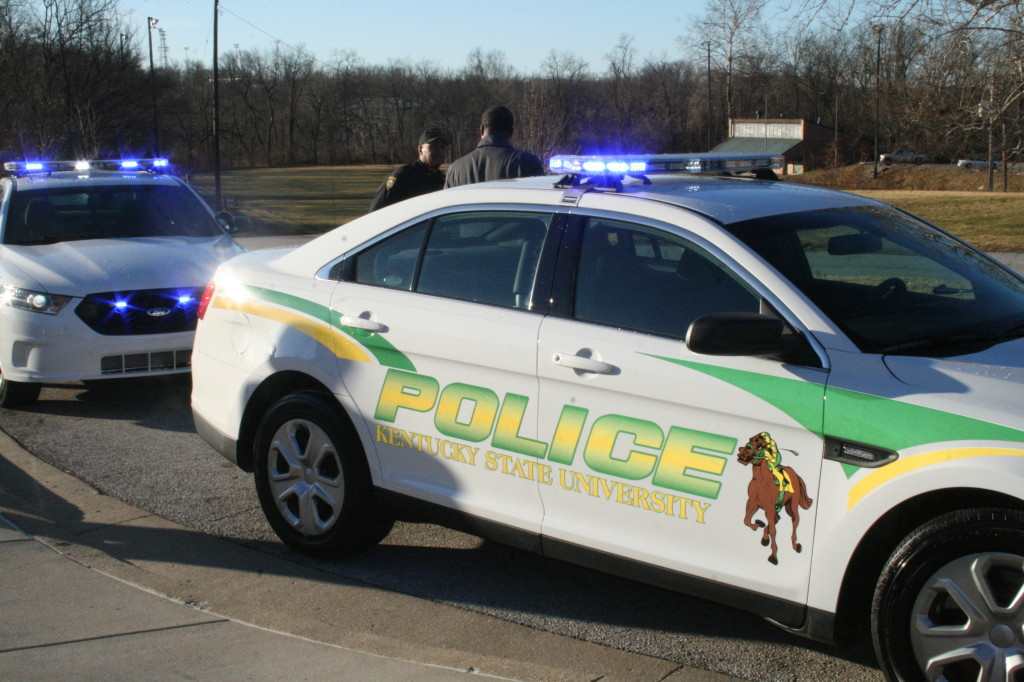 Kentucky State University Unveils New Police Vehicles