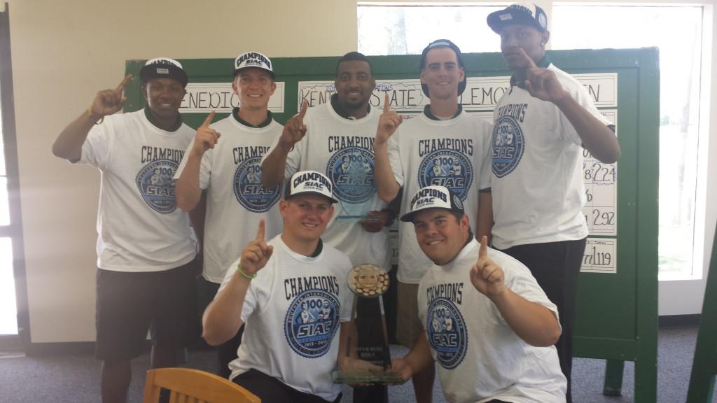 2014 Men's Golf SIAC Champions