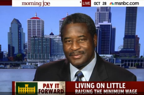 President Raymond M. Burse Appears on MSNBC Morning Joe