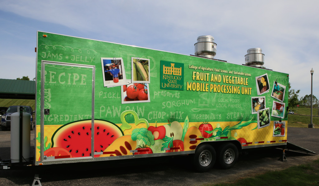 KSU Mobile Food Processing Unit