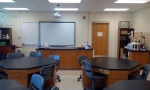 Carver 216 Biology Laboratory