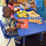Rosenwald Students creating