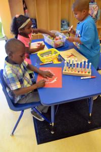Rosenwald Students creating