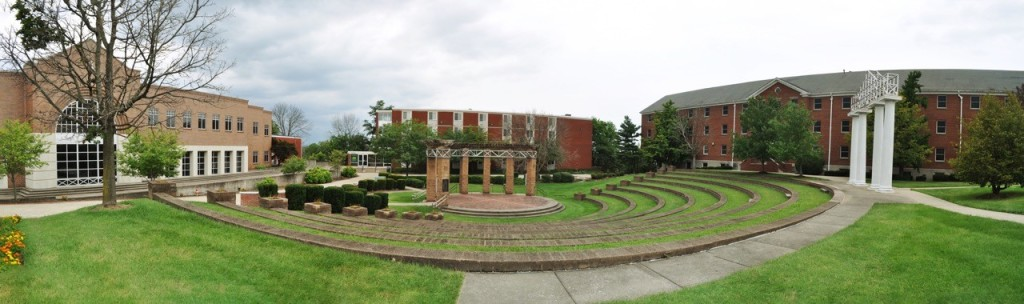 panoramic campus view