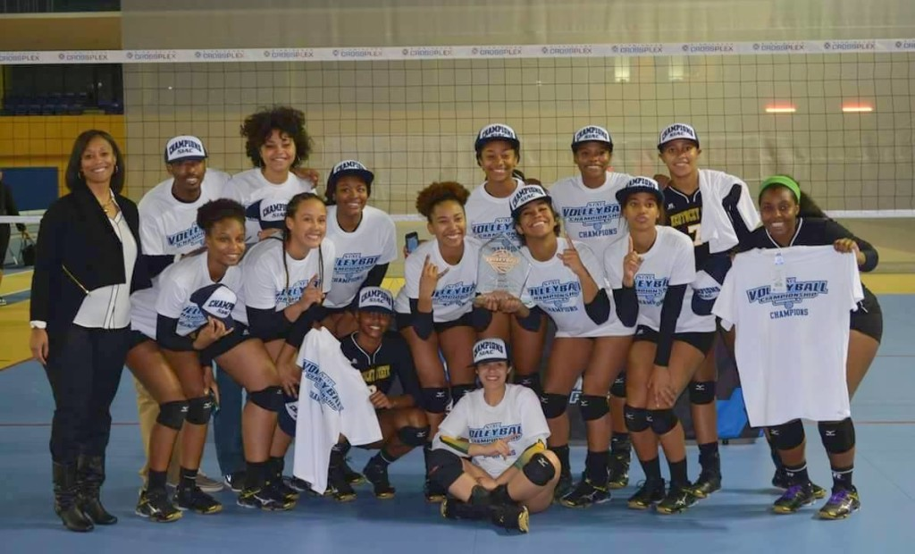 Volleyball team, 2015 SIAC Champs