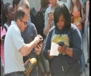 Hands-on use of GPS in geo-spatial study