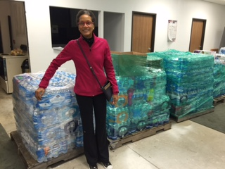 KSU Student Athlete Advisory Committee's #Breds4Flint water drive a huge success