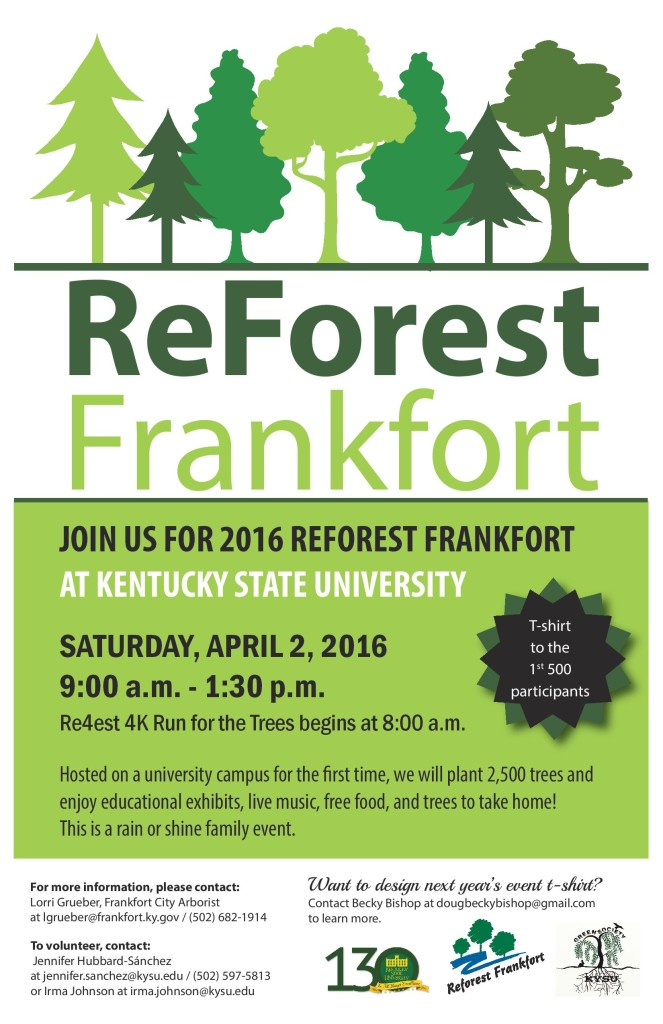 KSU, Frankfort will spring into action with ReForest Frankfort