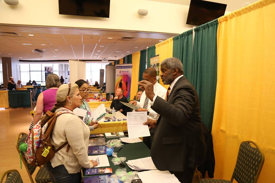Career Fair draws students  employers