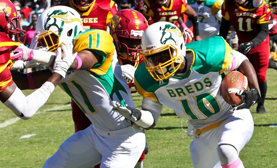 University Of Kentucky Athletics October An Exciting: Football Shocks #5 Tuskegee University On The Road, 10-9