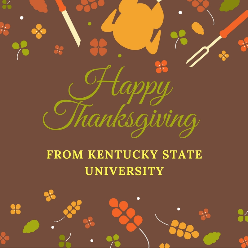 a special thanksgiving message from dr thompson kentucky state