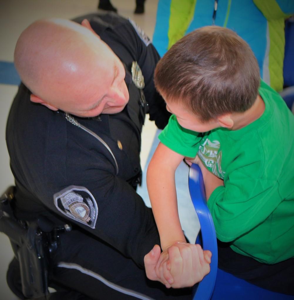 KSU helps kick off annual Shop with a Cop
