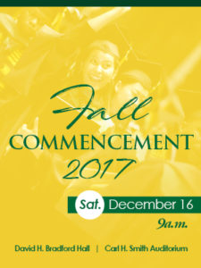 Fall 2017 Commencement Convocation
