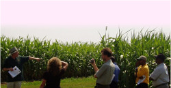 Extension - People in Field Picture