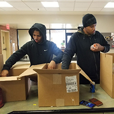 Kentucky State University campus community teamed up to help those in need