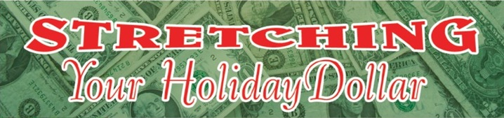 Stretching your holiday dollar top graphic