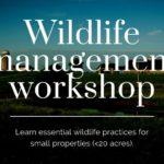 Wildlife Management Workshop Graphic