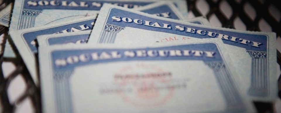 Pictures of Social Security Cards