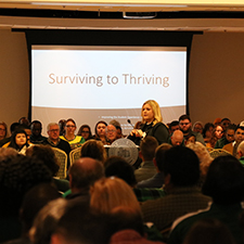 Kentucky State University's Spring Encampment 2020 encouraged employees to move from surviving to thriving