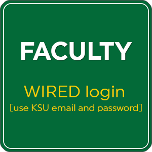 Faculty WIRED login square button