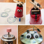Create a robot at home for children