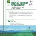 Geospatial_Technology_Virtual_Workshop Flyer