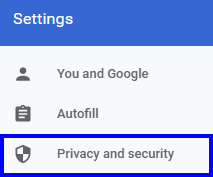 Chrome-privacy-security