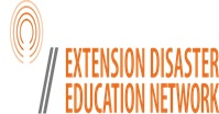 Extension Disaster Education Network Logo to Page