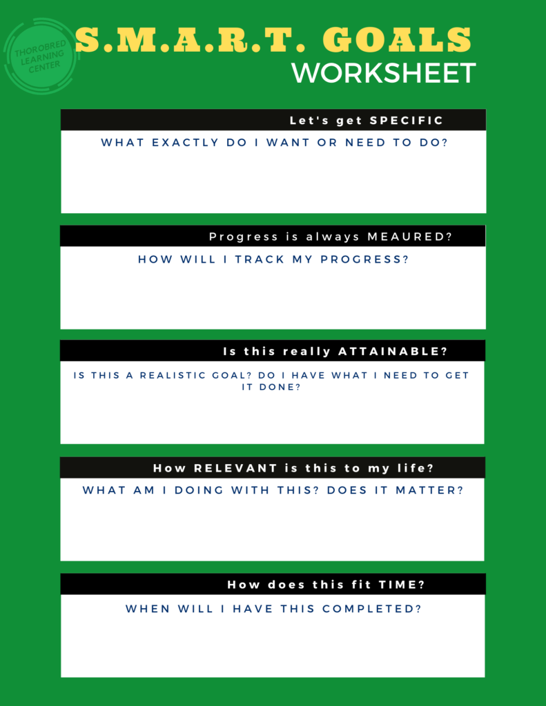 Goal-setting-worksheet